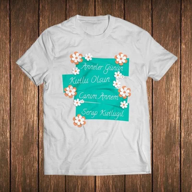 Anneler Günü Hediyesi İsimli Tişört