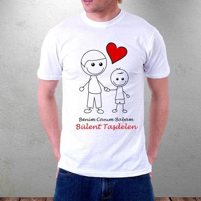 Babalar Günü Özel Baba Çocuk Tişörtü