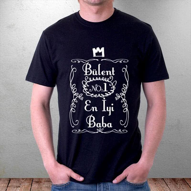 Babalar Gününe Özel İsimli Tişört