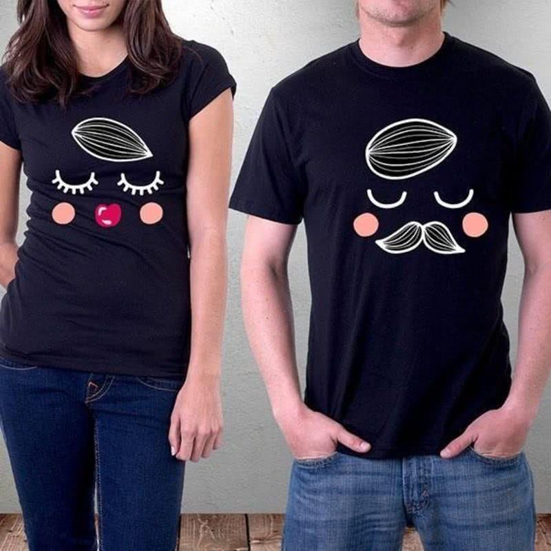 Bay ve Bayan Çift Tişörtü