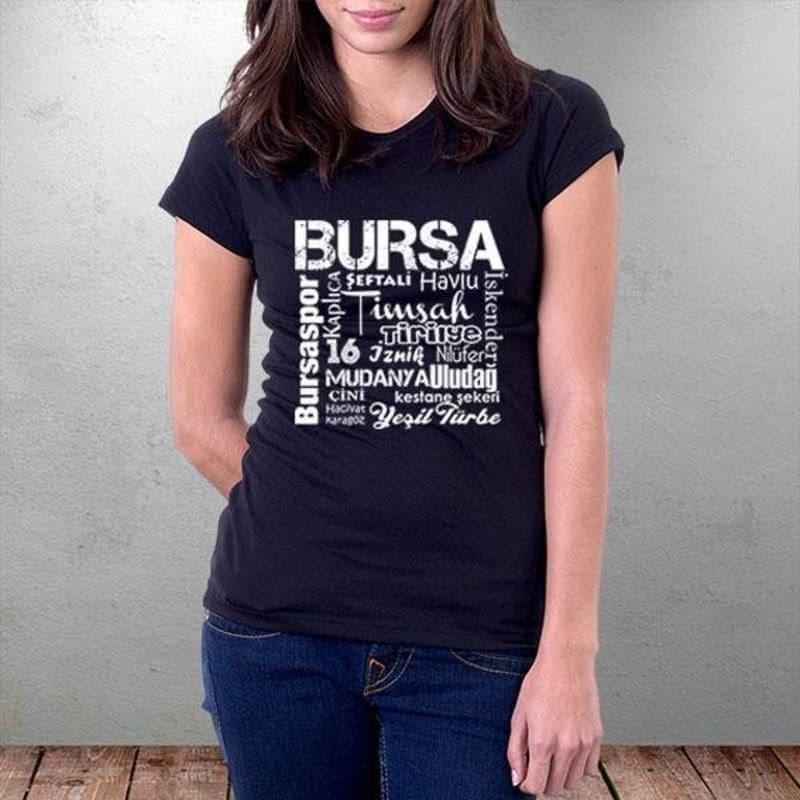 Bursa Özel Tasarımlı Baskılı Tişört