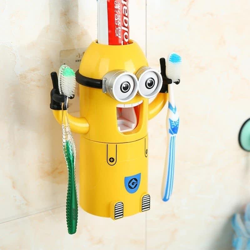 Diş Macunu Sıkıcı ve Fırçalık Seti