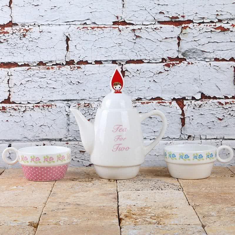 Ev Hediyesi Porselen Çay Seti