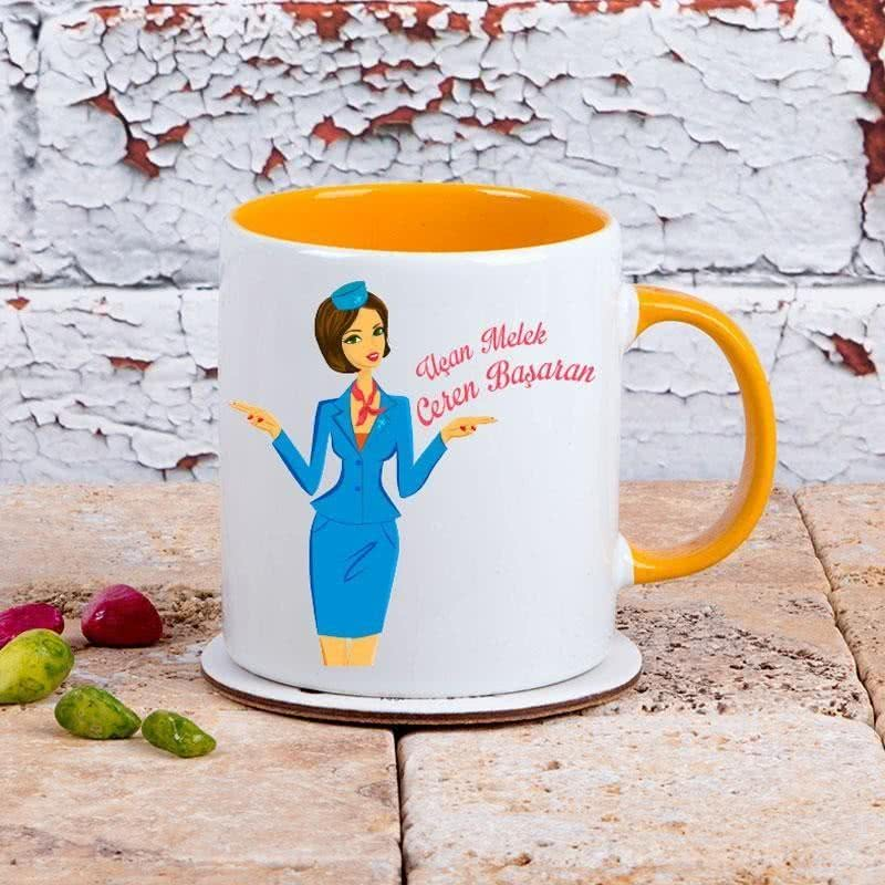 Hosteslere Özel Hediye Kahve Kupası