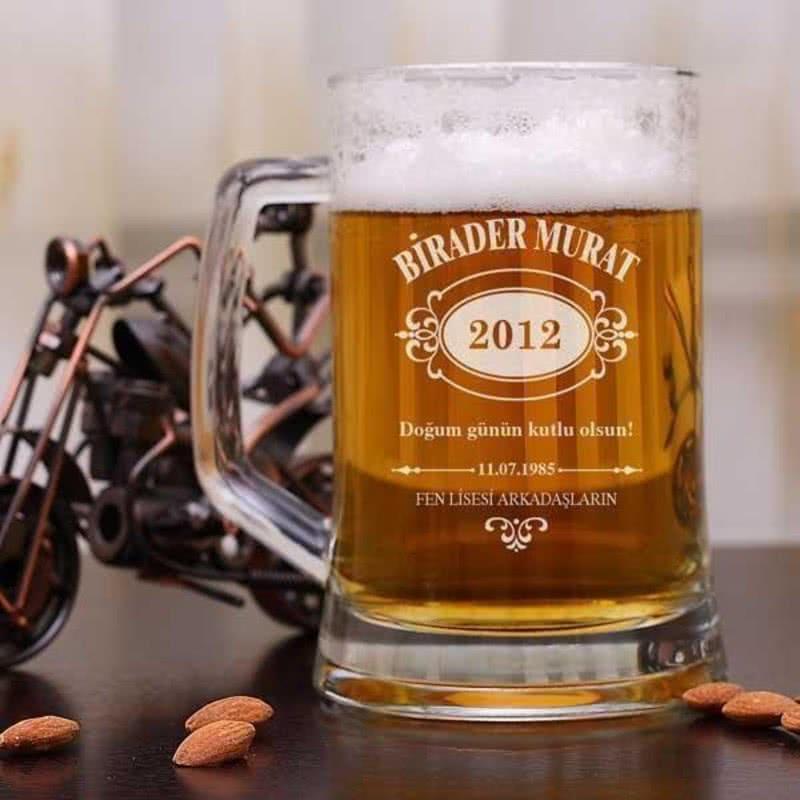 İsme Özel Arjantin Bira Bardağı