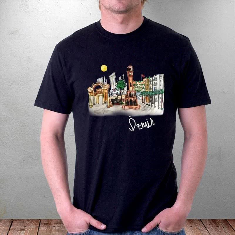 İzmir e Özel Hazırlanan Baskılı Tişört