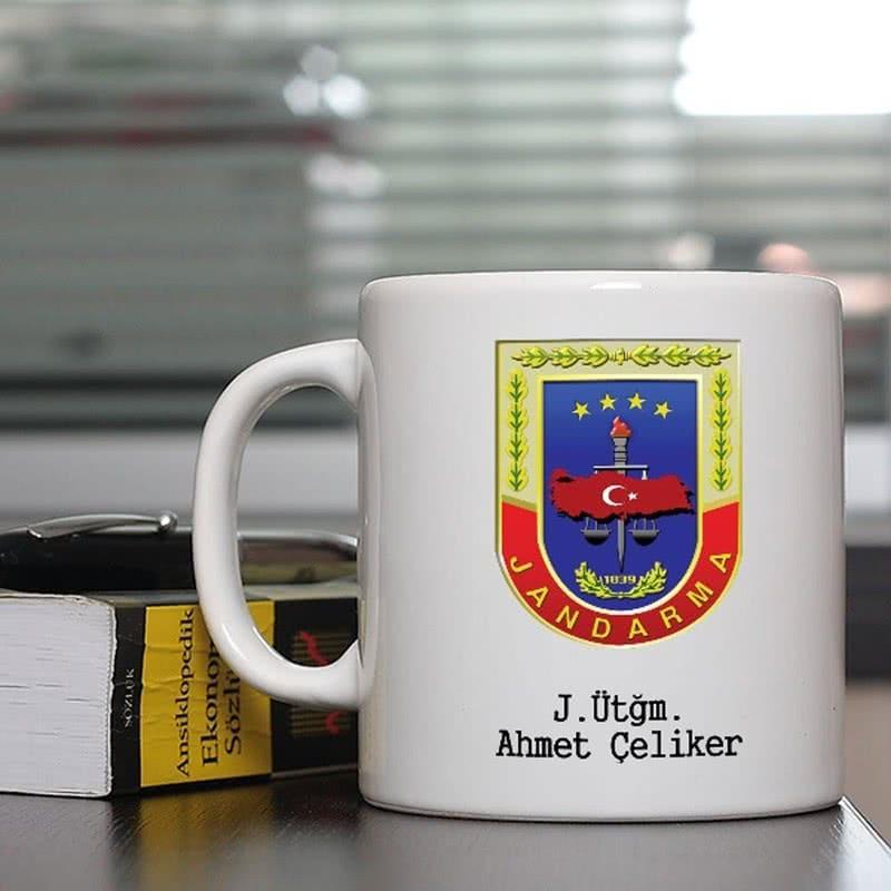 Jandarma Kuvvetlerine Özel Kahve Kupası