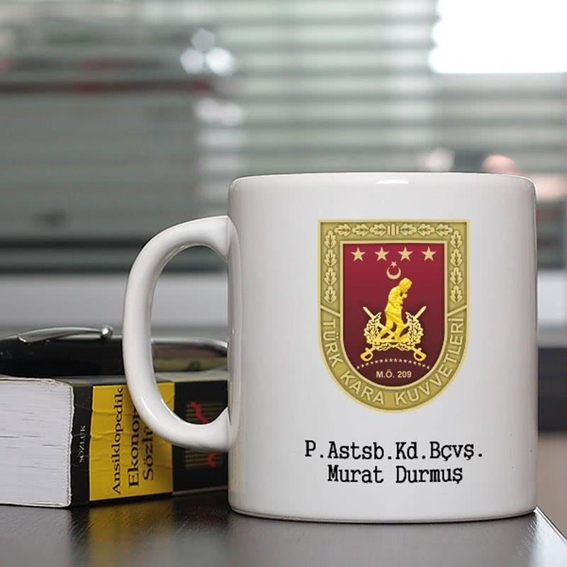 Kara Kuvvetlerine Özel Kahve Kupası