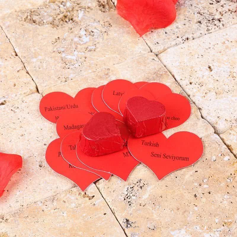 Kırmızı Renkli Sevgiliye Hediye Vosvos Araba