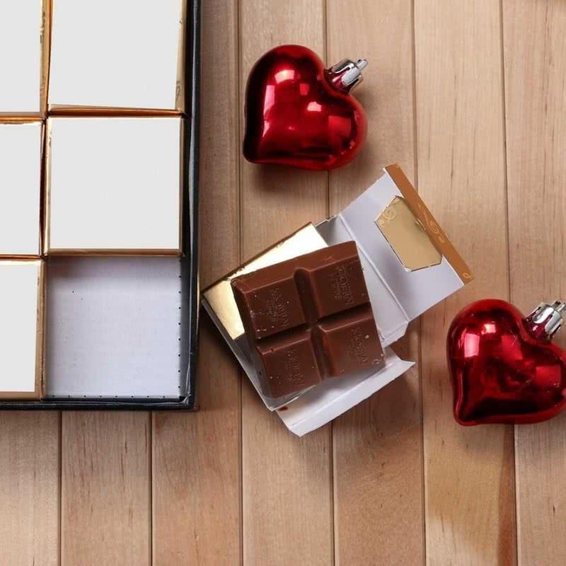 Kişiye Özel Lüks Kutulu Çikolata