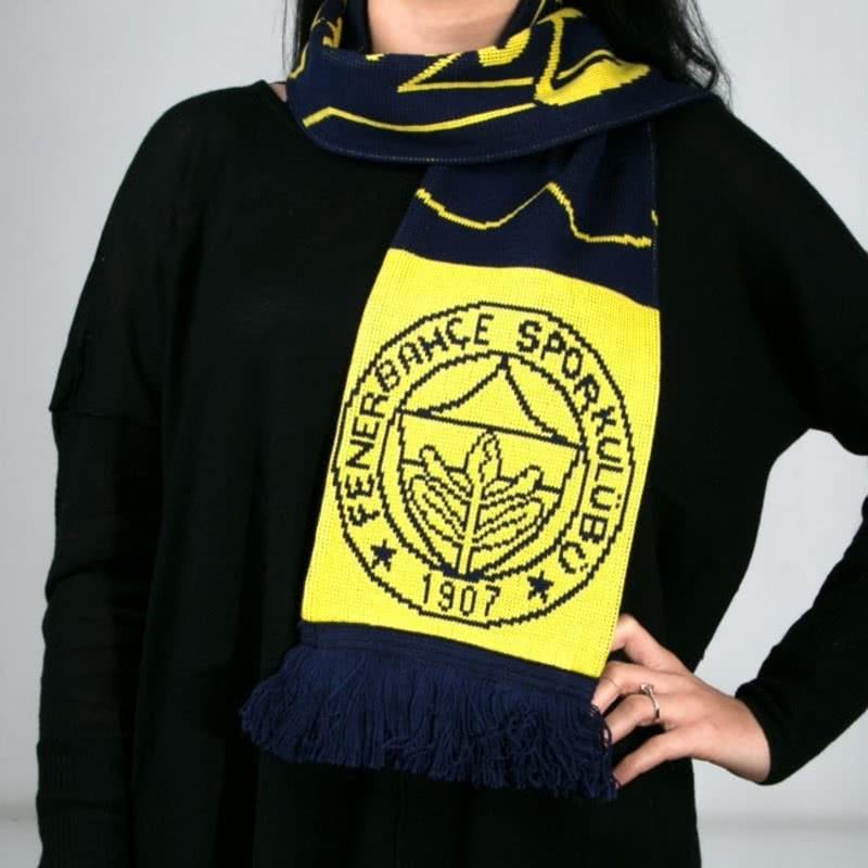 Lisanslı Fenerbahçe Taraftar Atkısı