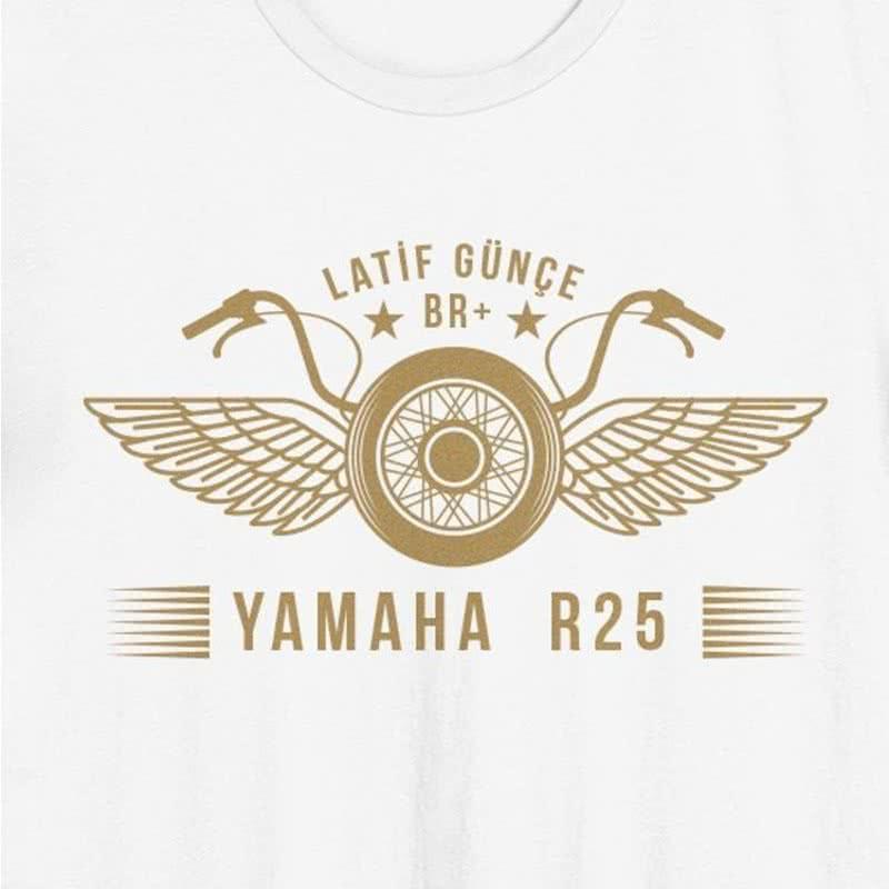 Motorsiklet Tutkunlarına Özel İsimli Tişört
