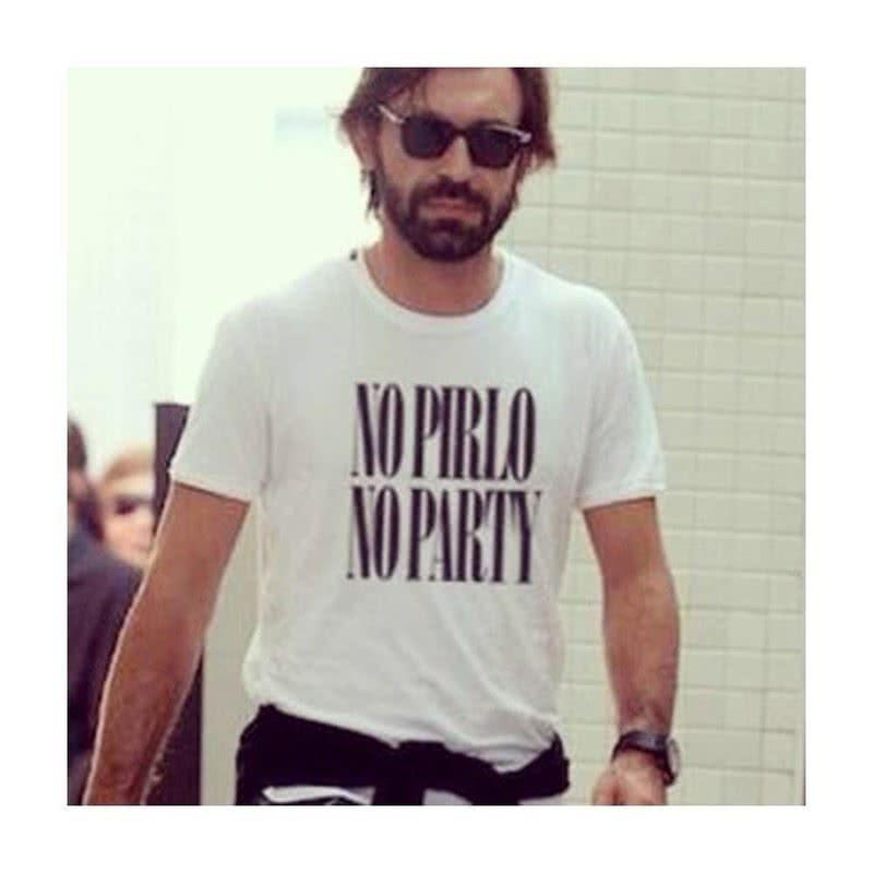 No Pirlo No Party Tişört