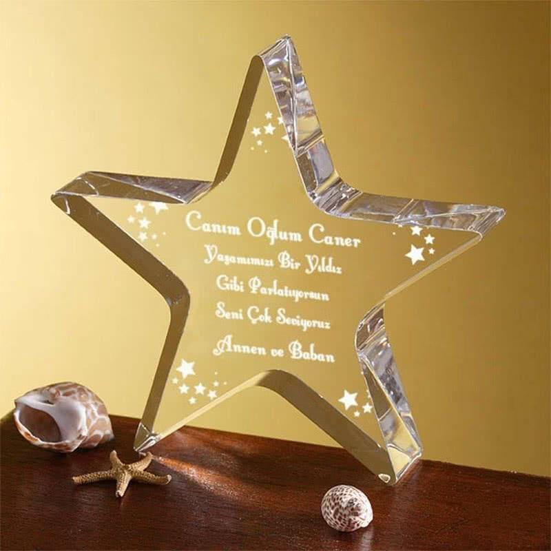 Oğlunuza Doğum Günü Hediyesi Yıldız Ödülü