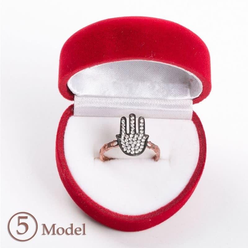 Rose Serisi Gümüş Yüzük Modelleri