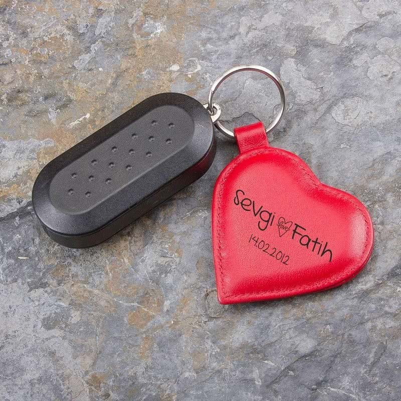Sevgililere Özel Kalp Anahtarlık