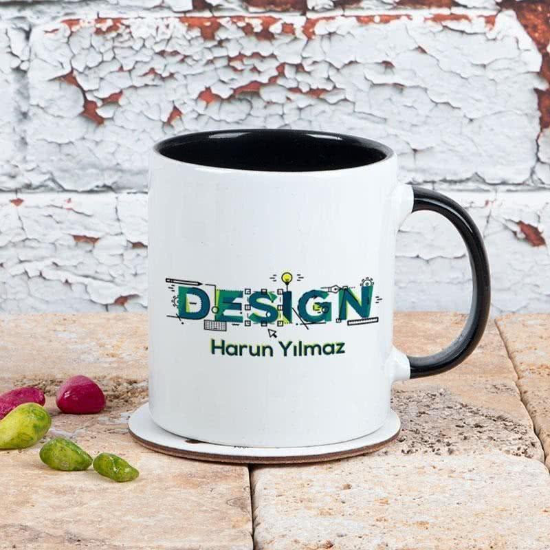 Tasarımcılara Hediye Porselen Kupa Bardak