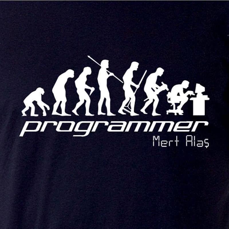 Yazılımcı Ve Programcılara Hediye İsim Yazılı Tişört