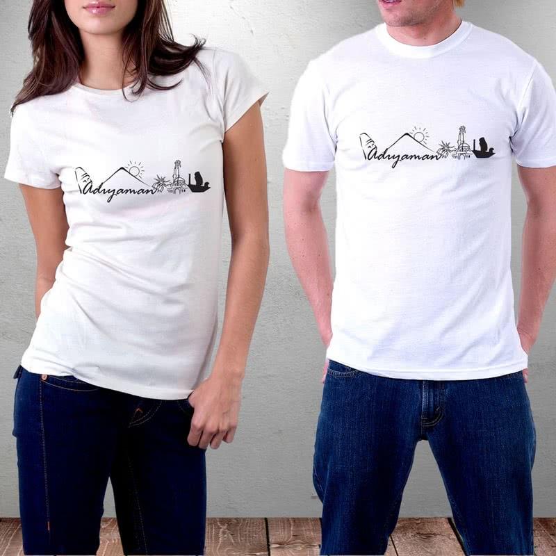 Adıyaman Şehir Tasarımlı Baskılı Tişört