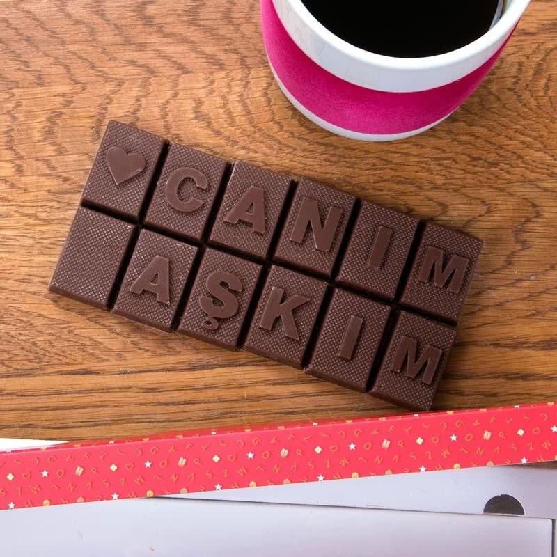 Canım Aşkım Harf Çikolata