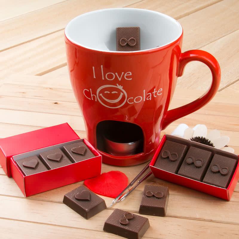 Çikolata Hediyeli Fondü Seti