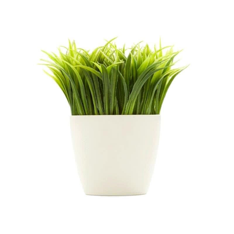 Çim Saksı Kalemlik-Grass Pot Pen Holder