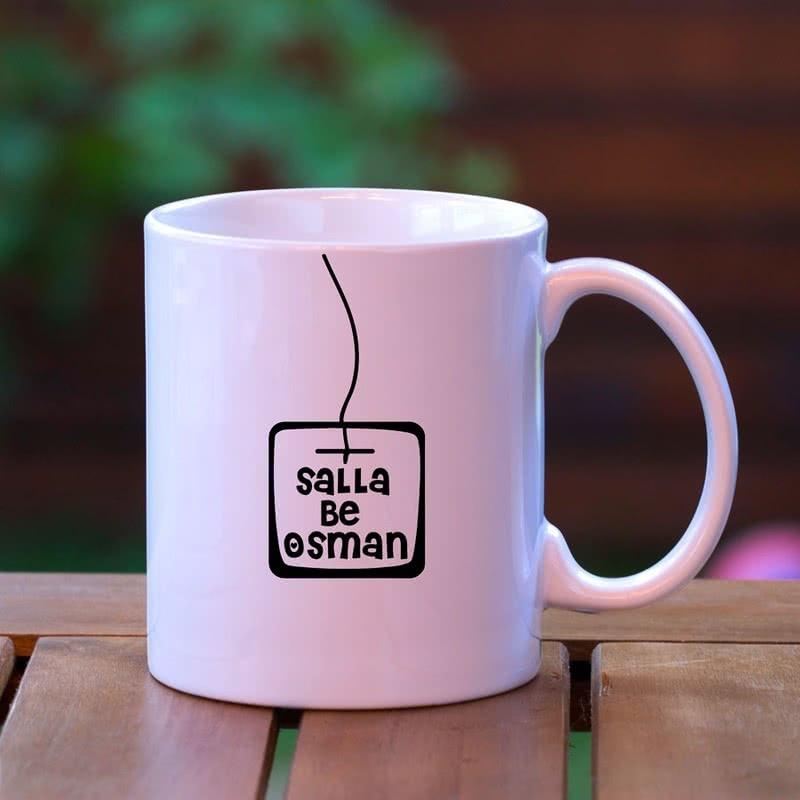 Espirili Sallama Çay Kupa Bardak