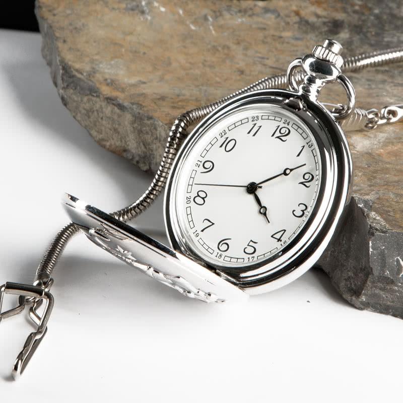 Harf İşlemeli Köstekli Saat