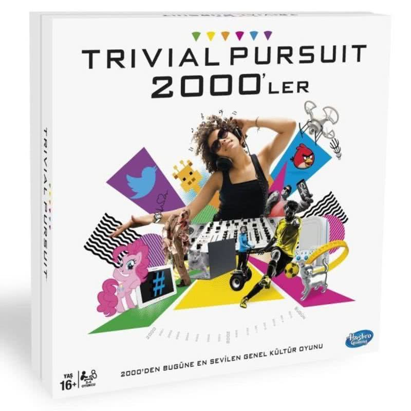 Hasbro Trivial Pursuit 2000 ler Oyunu