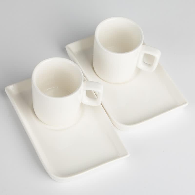 İki Kişilik Porselen Türk Kahvesi Seti