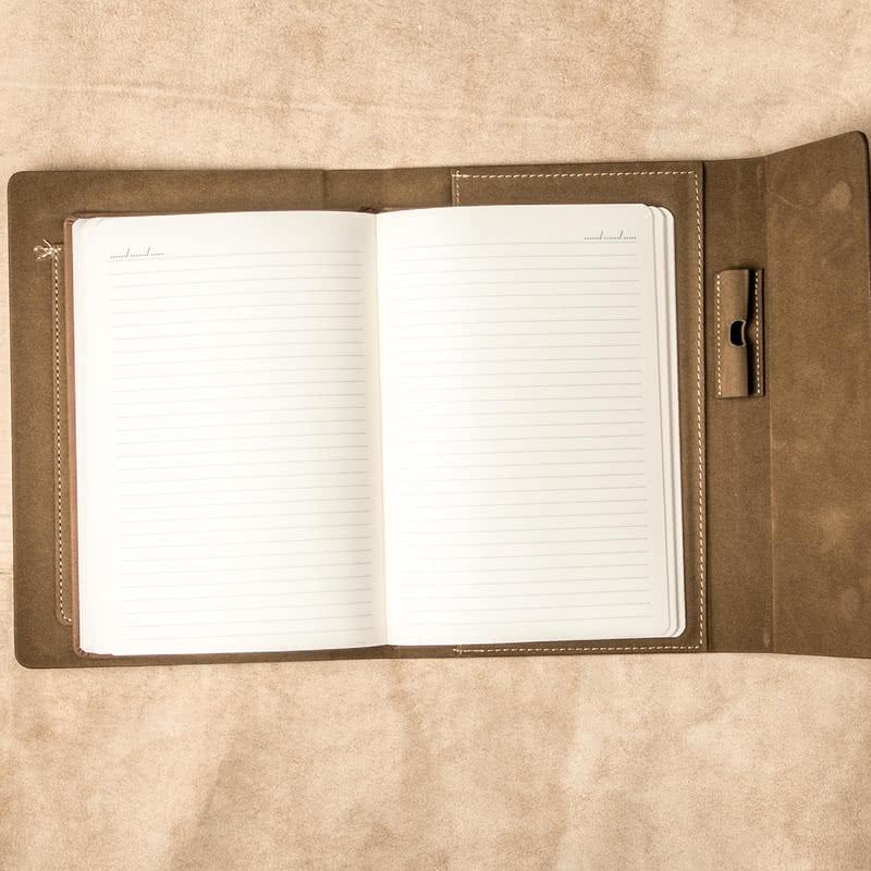 Kişiye Özel İmzalı Deri Not Defteri