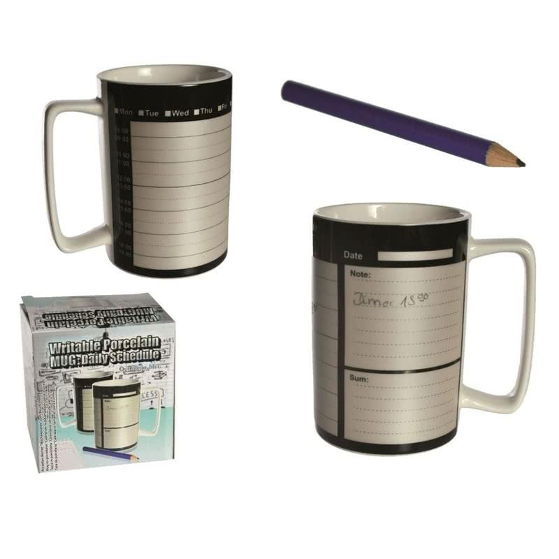 Kalemle Yazılabilir Kahve Kupası-Writable Mug