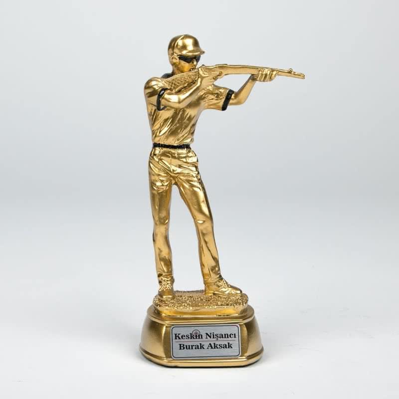 Keskin Nişancılara Hediye Altın Varaklı Ödül