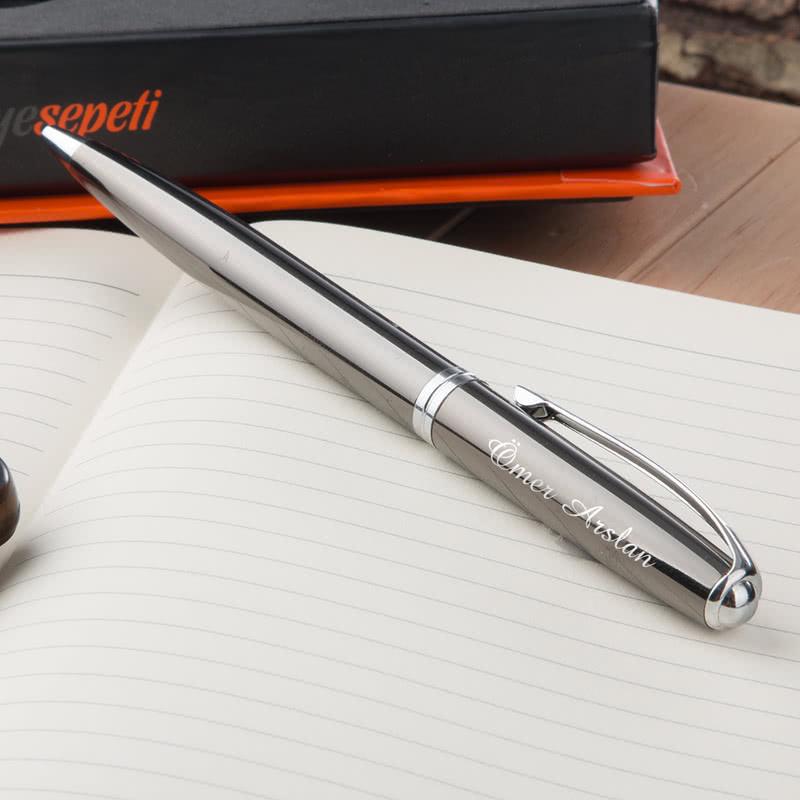 Kişiye Özel İsim Yazılı Tükenmez Kalem