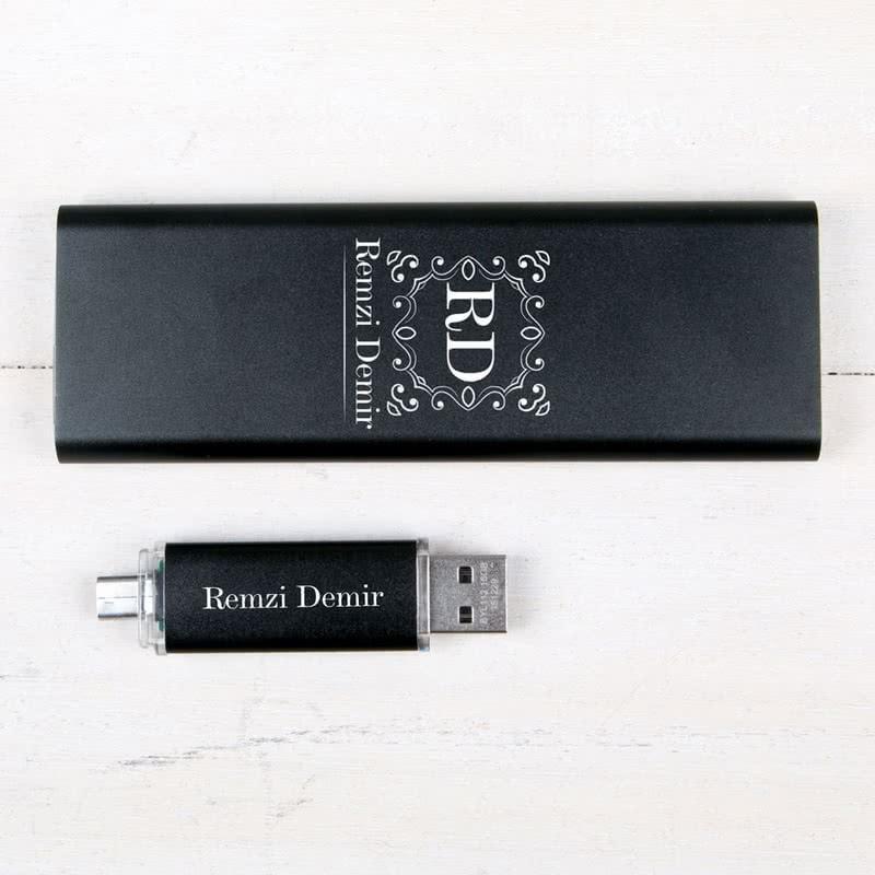 Mobil Hediye Seti Powerbank Ve USB