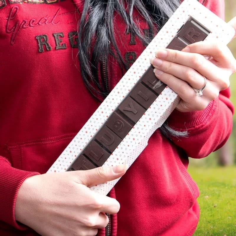 Mutlu Yıllar Yazılı Harf Çikolata