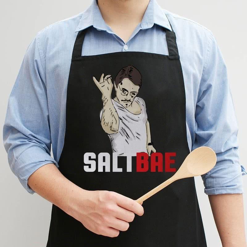 SaltBae Özel Tasarım Mutfak Önlüğü