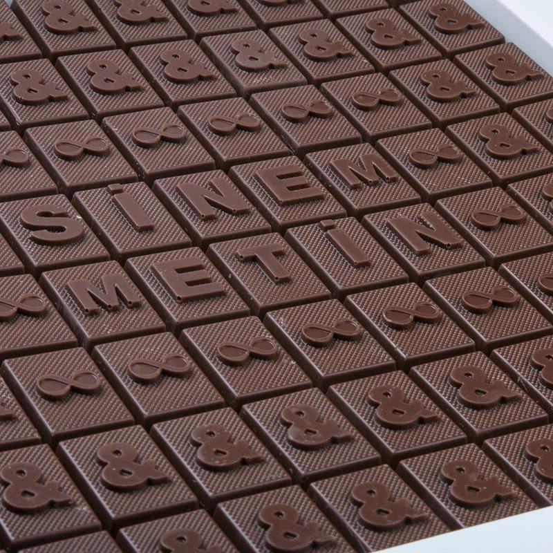 Sen & Ben Kişiye Özel 88 Harf Çikolata