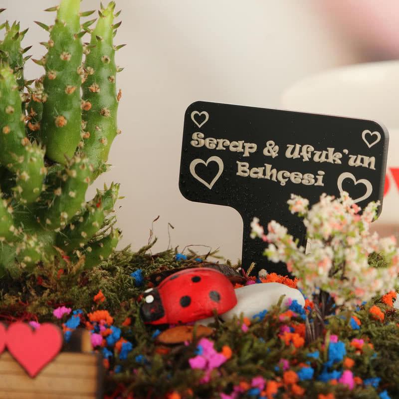 Sevgiliye Hediye Aşk Bahçesi