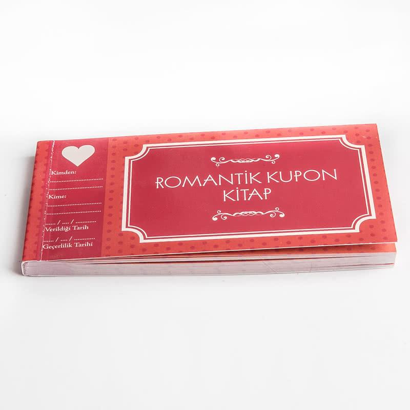 Sevgiliye Hediye Romantik Kupon Kitap