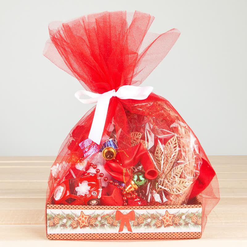 Sevgiliye Özel Romantik Yılbaşı Sepeti