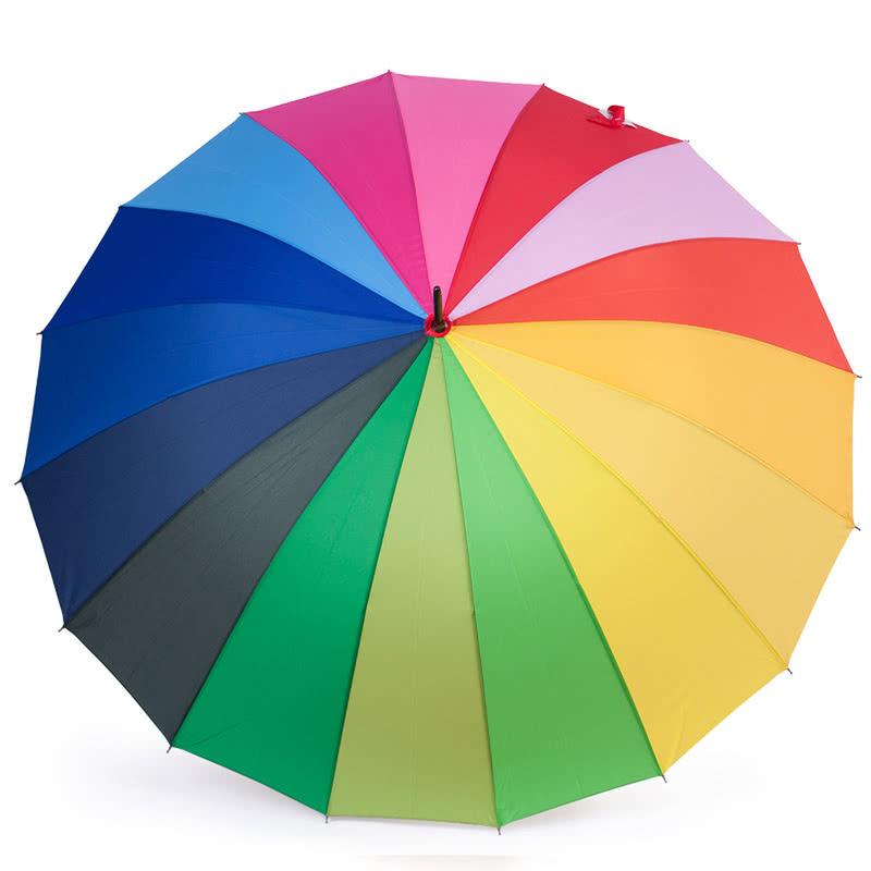 VIP Kalite Gökkuşağı Şemsiye