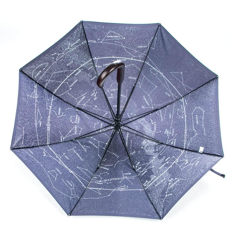 Yıldız Takımı Desenli Şemsiye