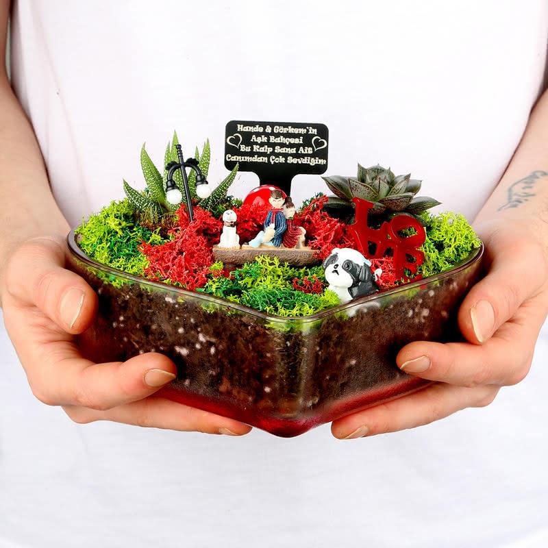 14 Şubat Hediyesi Aşk Bahçesi