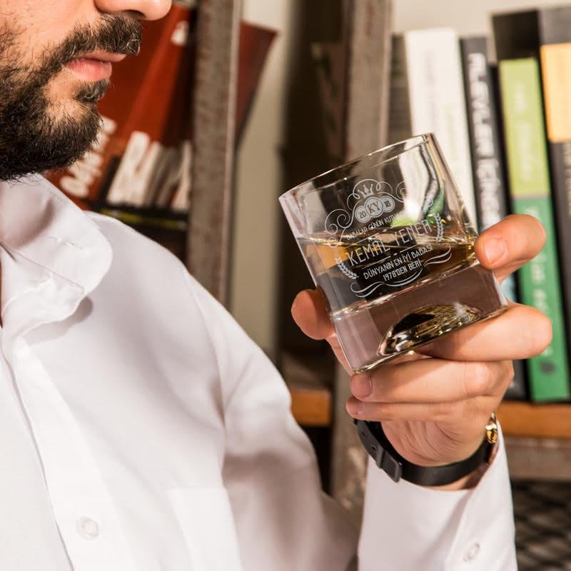 Babalar Günü Hediyesi Viski Kadeh Seti