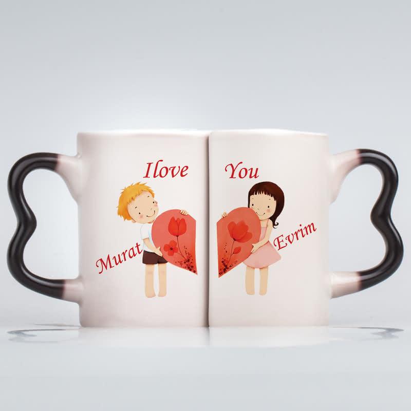 Çiftlere Özel Aşk Kupası - Sihirli Kupa