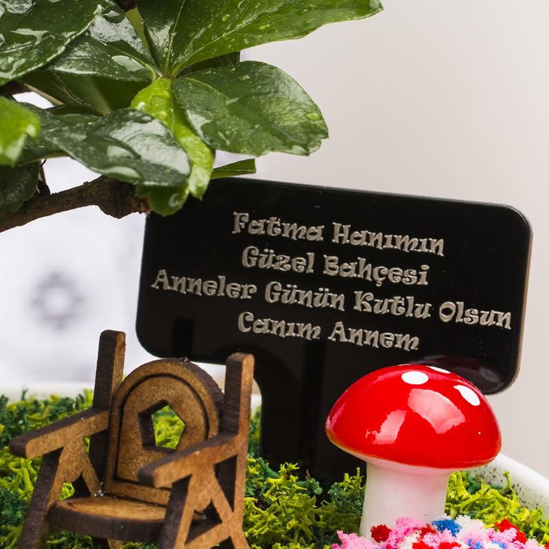 Çok Sevilen Annelere Özel Minyatür Bahçe