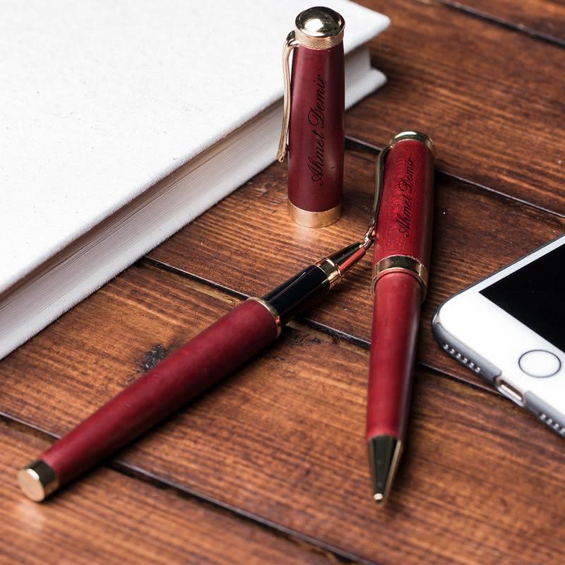 Dünyanın En İyi Patronuna Kalem Seti