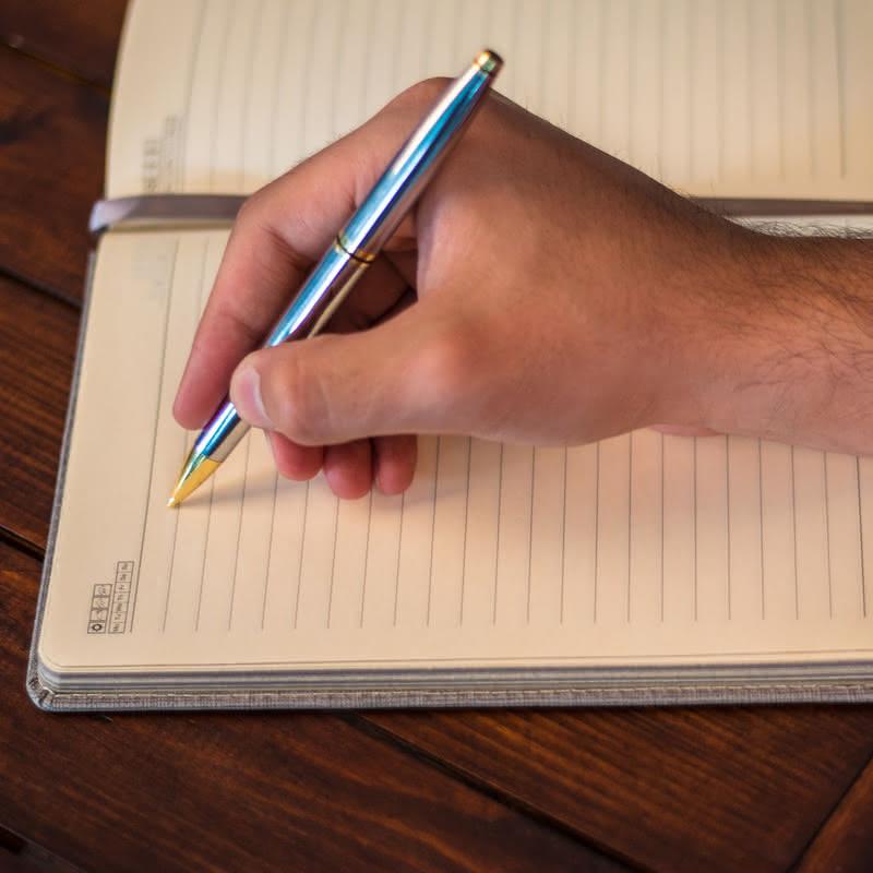 Edebiyat Öğretmenlerine Özel Kenar Boyalı Not Defteri