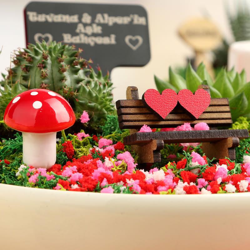 En Tatlış Sevgililere Özel Aşk Bahçesi